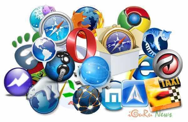 browser logos - Εξομοίωση κινητών τηλεφώνων στα Chrome, Firefox, Edge και Opera