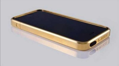 iphone brikkcase gold
