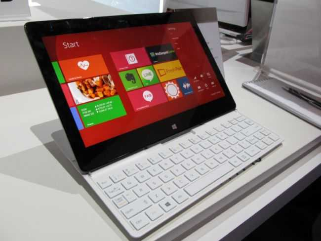 CES 2014 LG Tab Book2 Slider PC with Haswell Shown