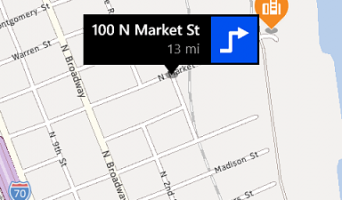 nokia brings ads to here maps on windows phone 8