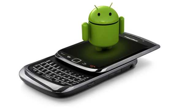 BlackBerry Android smartphones - Older Android phones will not see secure websites