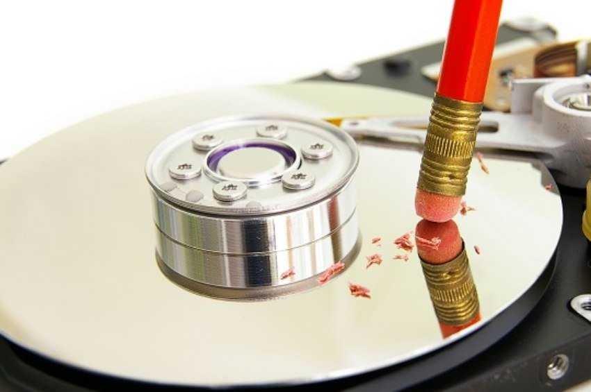 format or erase a hard drive - 5 λάθη συντήρησης των Windows που μπορούν να καταστρέψουν τον υπολογιστή σας