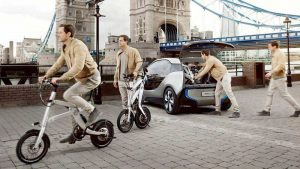 bmw x2city electric kick scooter 2 300x169 - BMW X2City the folding for your car