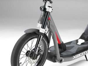 bmw x2city electric kick scooter 5 300x225 - BMW X2City the folding for your car