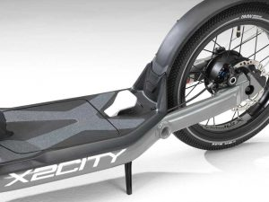 bmw x2city electric kick scooter 7 300x225 - BMW X2City the folding for your car
