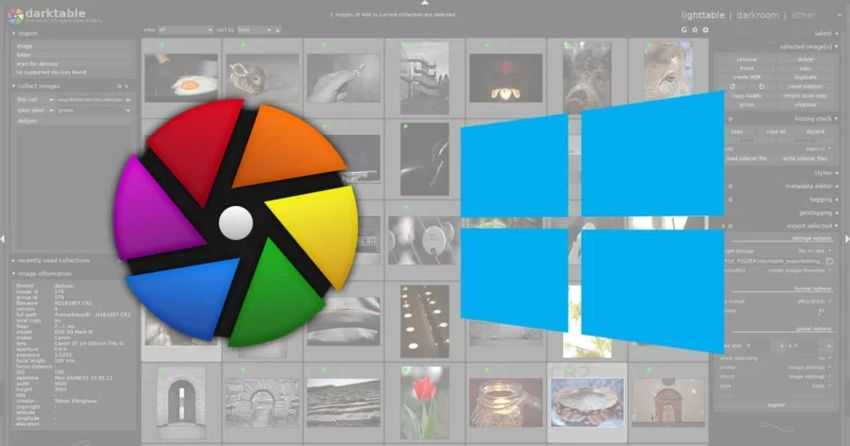darktablewindowsfeat - darktable 3.4: the alternative Lightroom for Windows