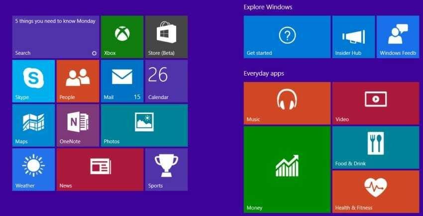 start, Windows 10, application