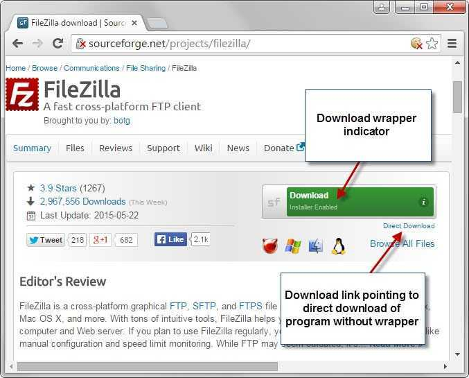 sourceforge download wrapper - Dark patterns more about how you are handled
