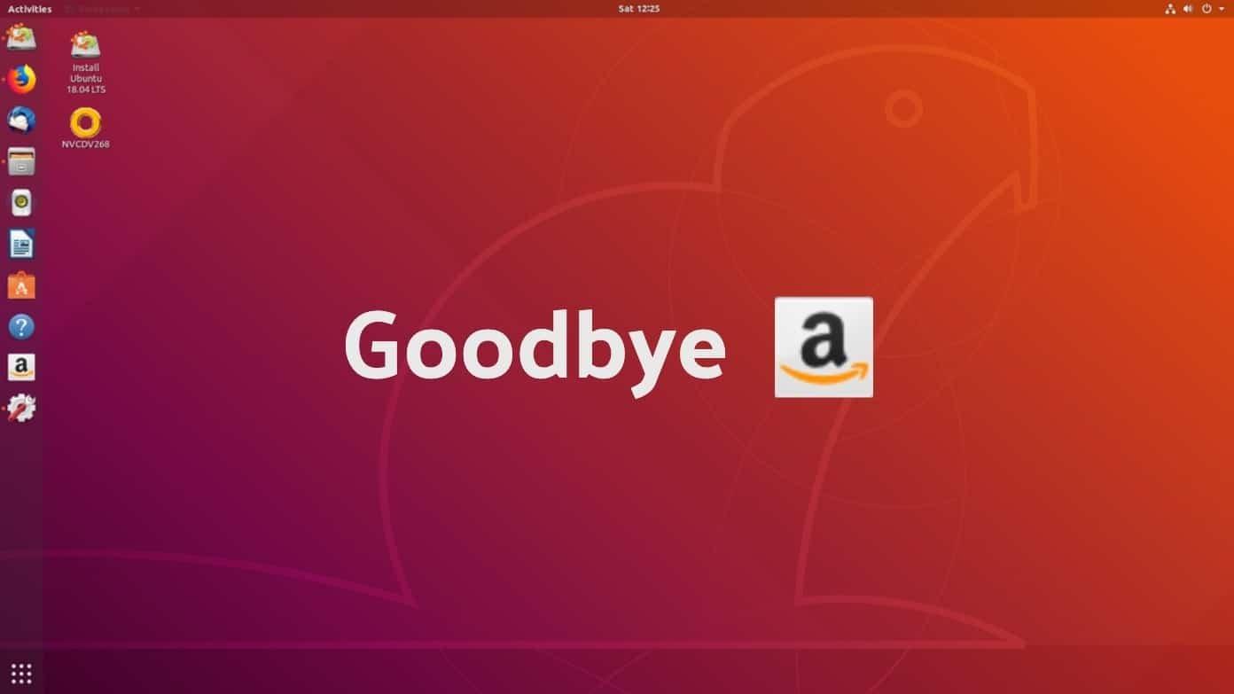 Ubuntu 20.04 Focal Fossa τέρμα στην εφαρμογή της Amazon