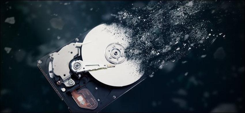 hard disk die - Πώς να διαγράψετε πλήρως έναν σκληρό δίσκο στα Windows