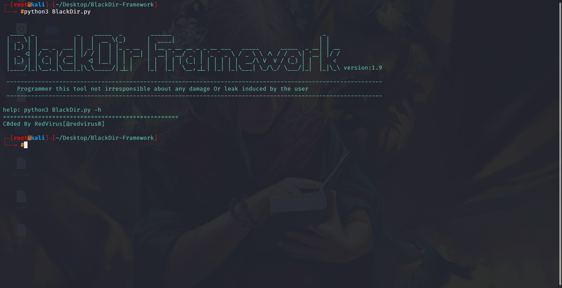 BlackDir-Framework A Valuable Web Application Scanner!