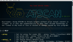 ATSCAN –Web Applications Scanner με Exploitation Χαρακτηριστικά