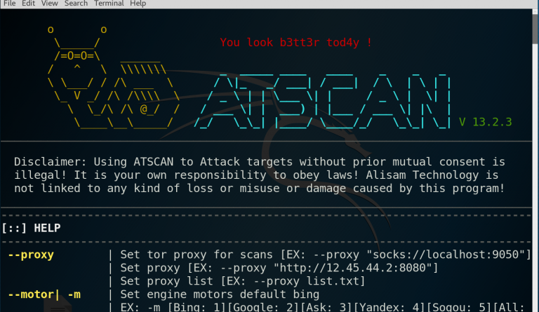ATSCAN - Web Applications Scanner with Exploitation Features