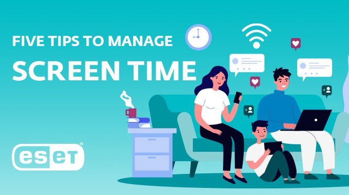 ESET how we can reduce screen time