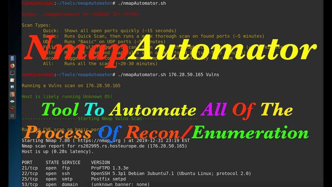 Nmap Automator Offensive Security εργαλείο για IP scan