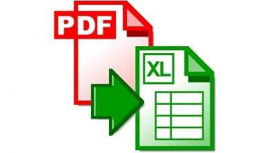 Microsoft: εισαγωγή & ανάλυση δεδομένων από PDF σε Excel
