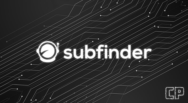 subfinder Find subdomains easily and quickly!