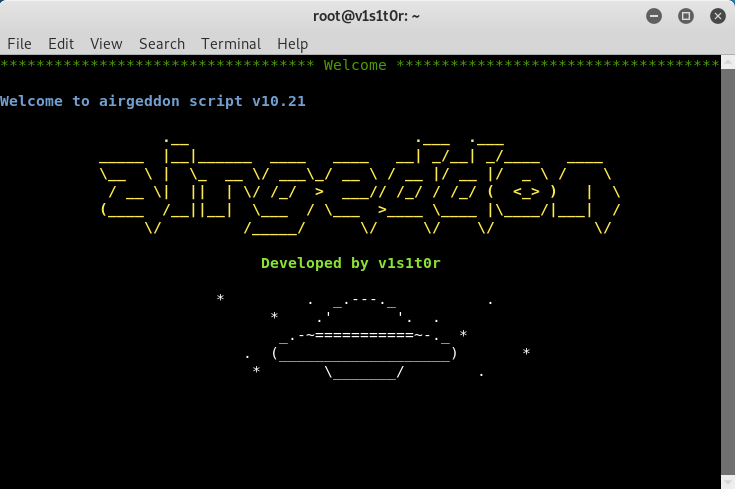 airgeddon: All-in-one Wireless Toolkit