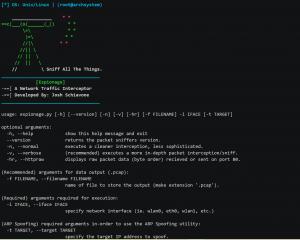 Espionage: Network Packet και Traffic Interceptor για Linux