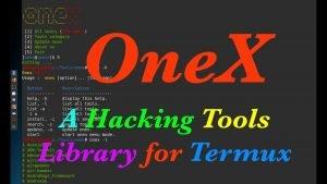 Onex: Hacking Tools για το Termux