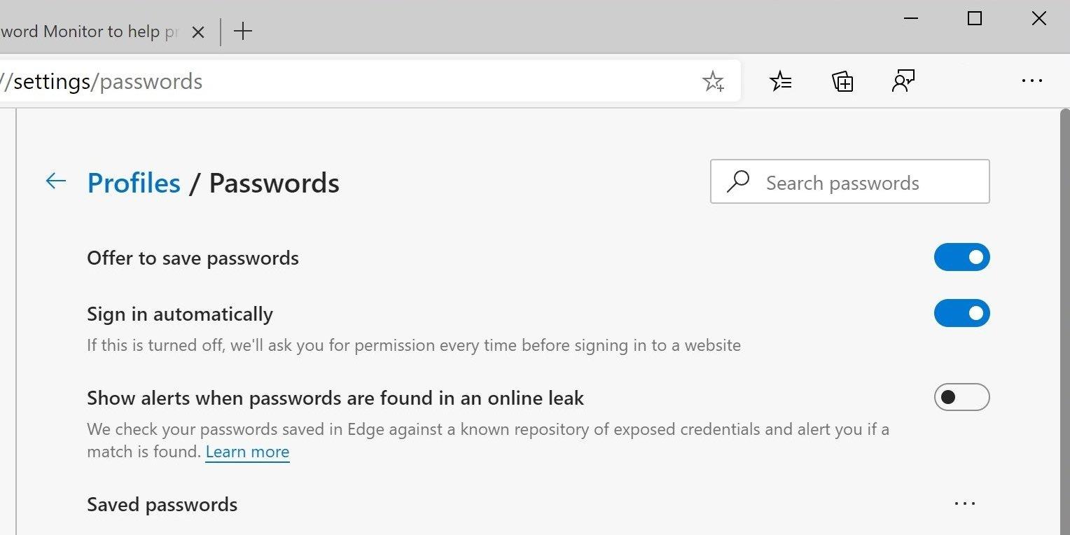 password monitor