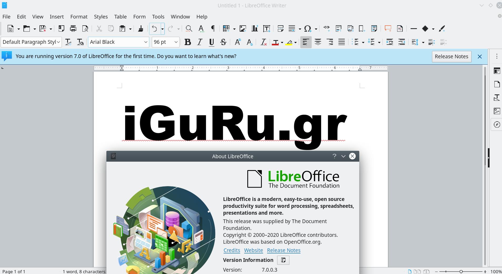 libreoffice 7 - LibreOffice 7.1.0 prerelease just released