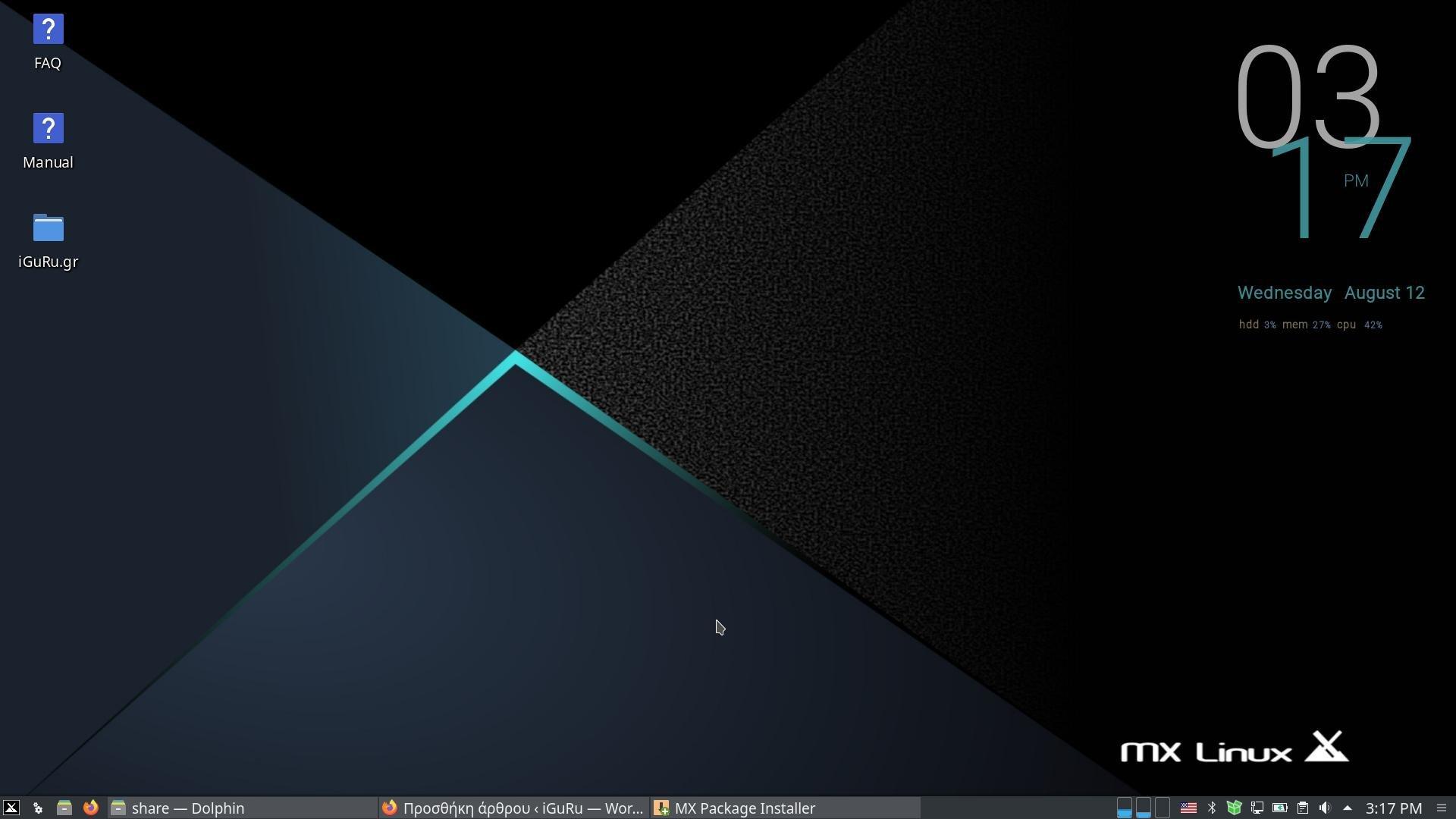 mx kde - MX Linux 19.3 Xfce ή KDE Plasma με Linux kernel 5.8