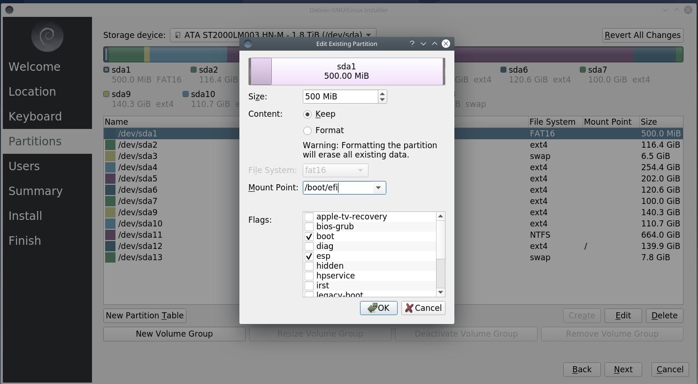 6boot - Debian 10.6 Buster νέα εγκατάσταση