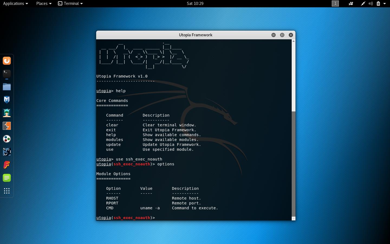 83942343 49805b00 a7fb 11ea 8a4f bd703c5b107a - utopia: Linux post exploitation framework