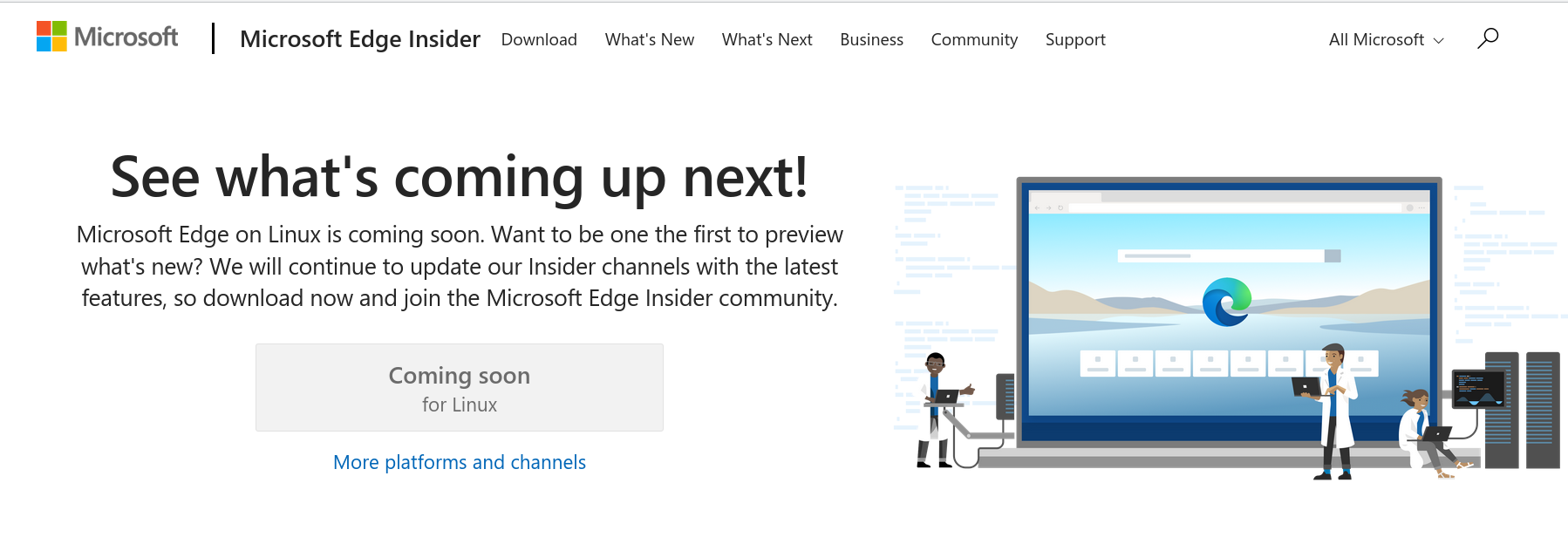 Screenshot 2020 09 23 07 34 03 - Microsoft Edge για Linux από τον επόμενο μήνα