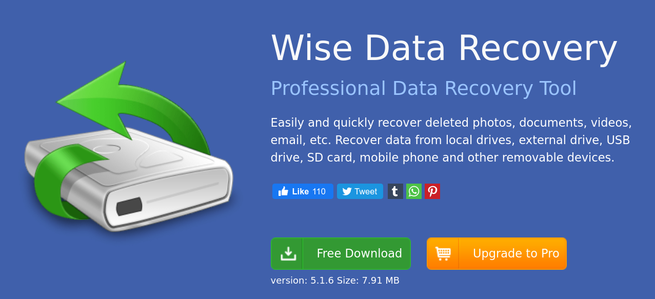 Wise Data Recovery - Wise Data Recovery ανάκτηση δεδομένων δωρεάν