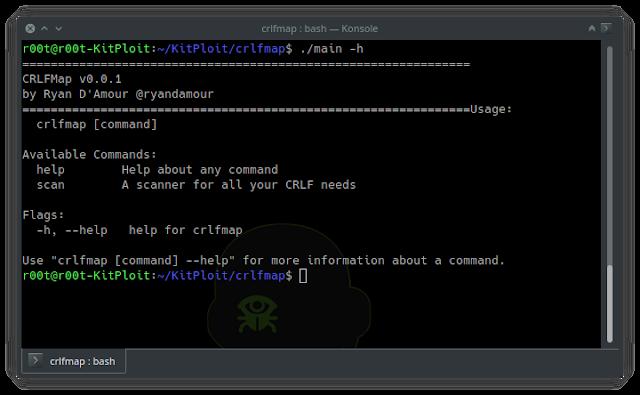 crlfmap - CRLFMap: Discover HTTP Splitting Vulnerabilities