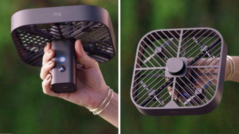 drone ring - Drone με κάμερα ασφαλείας που πετά μέσα στο σπίτι σας