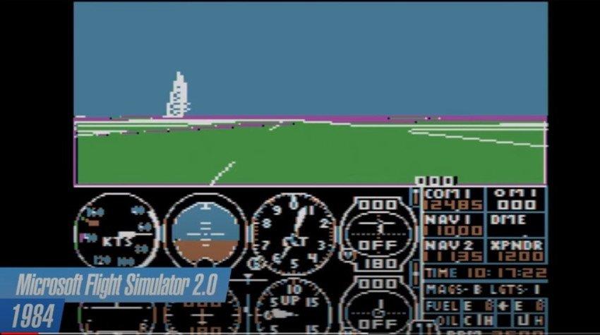 flight simulator - Microsoft Flight Simulator: 40 years of history