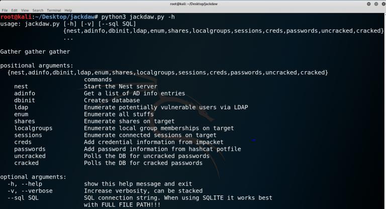 jackdaw 768x417 1 - jackdaw: Συλλογή πληροφοριών για ένα domain