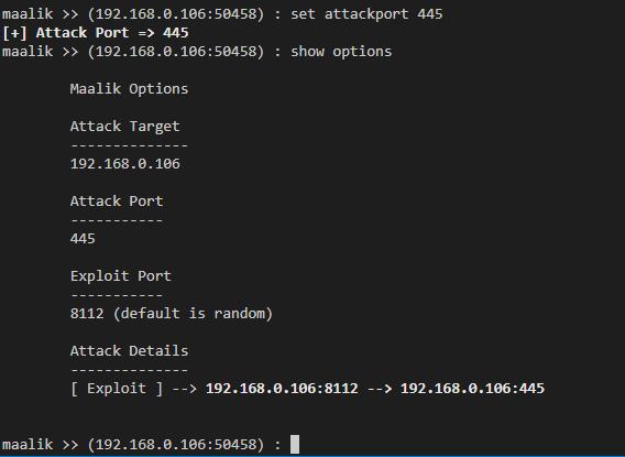 mlk7 - maalik: Network Pivoting and Post Exploitation Framework for Windows