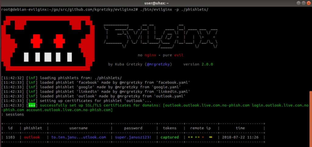 session - evilginx2: MITM attack framework επιτρέπει την παράκαμψη 2FA