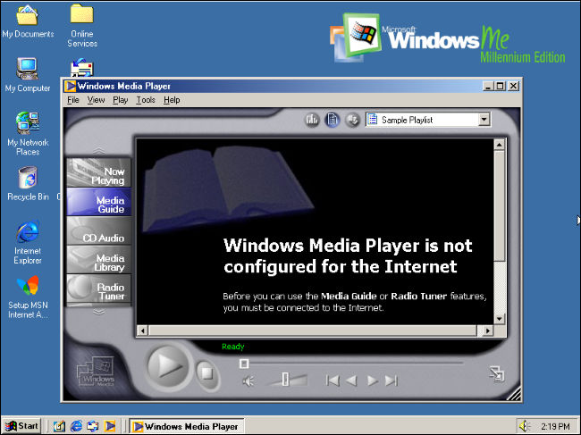 windows me media player - Windows Me, 20 years later: Was it really that bad?