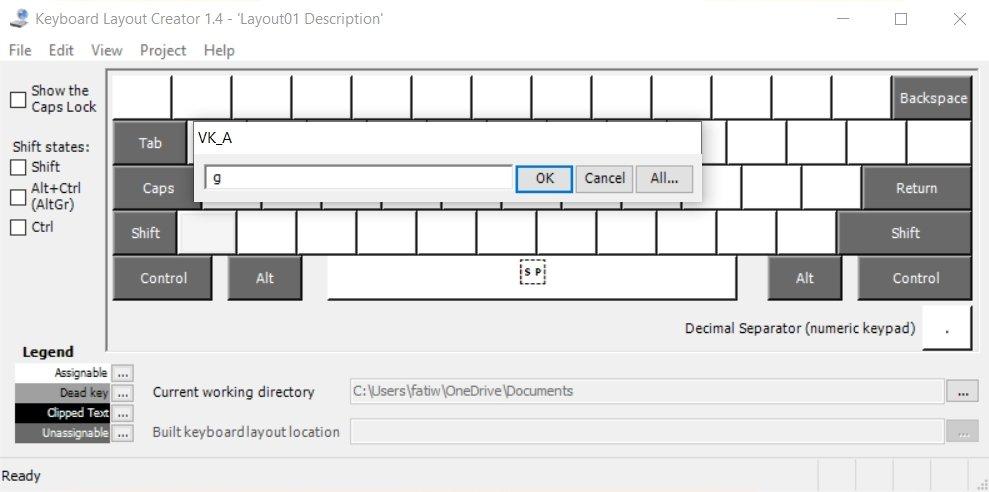 Install custom keyboard - Build a custom keyboard layout in Windows 10
