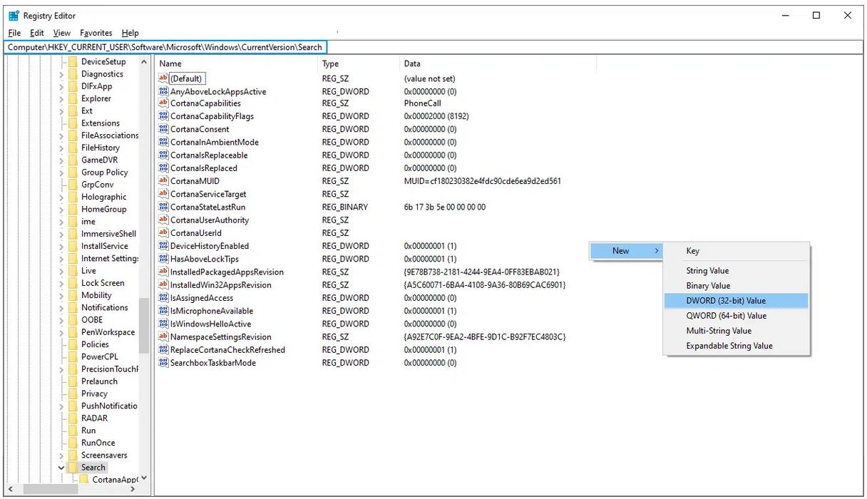 Screenshot 2020 10 07 19 57 50 - Windows 10 απενεργοποίηση των αναζητήσεων μέσω Bing