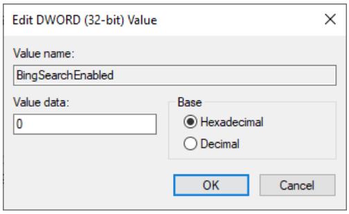 Screenshot 2020 10 07 19 59 17 - Windows 10 απενεργοποίηση των αναζητήσεων μέσω Bing