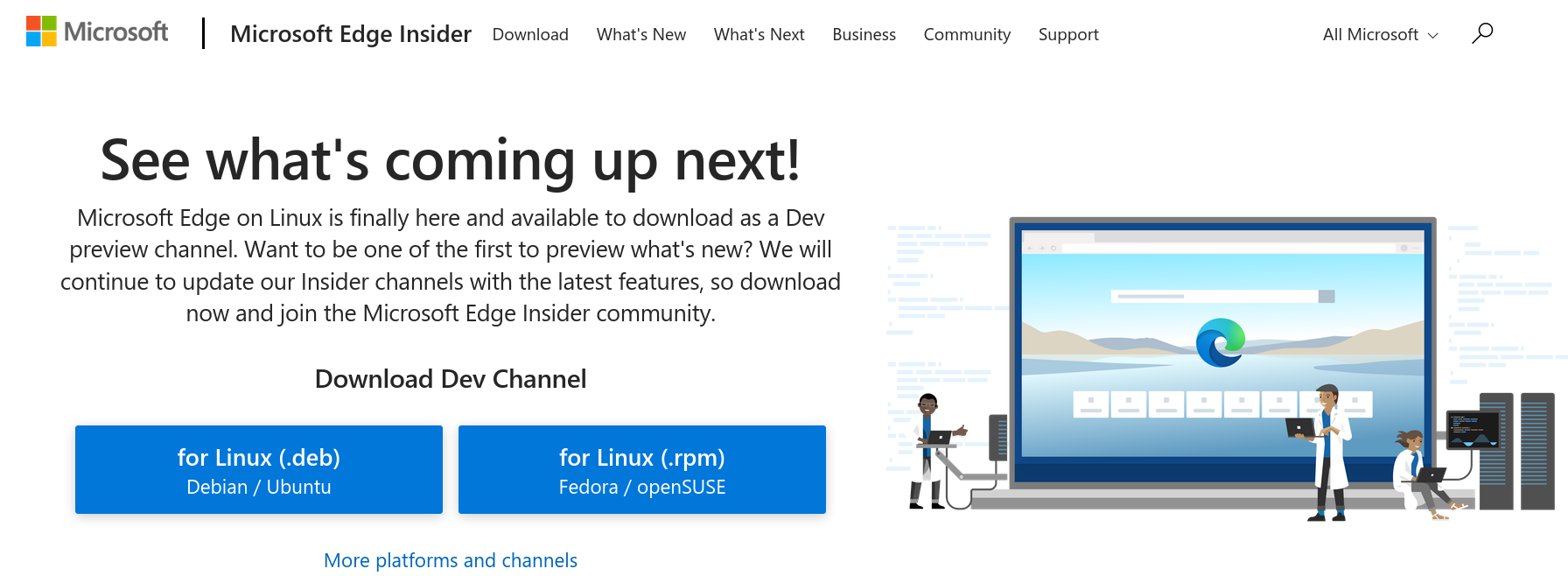 Screenshot 2020 10 21 07 12 15 - Microsoft Edge for Linux just released