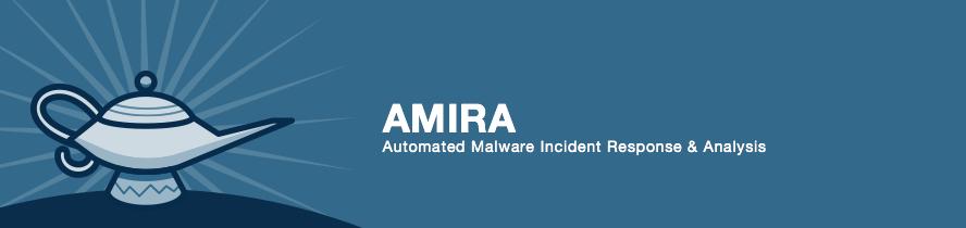 amira github banner - AMIRA: Αυτόματη ανάλυση κακόβουλου λογισμικού