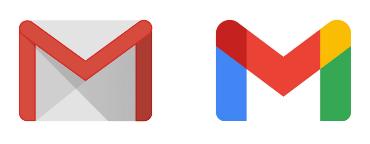gmail - Gmail new logos in Google applications