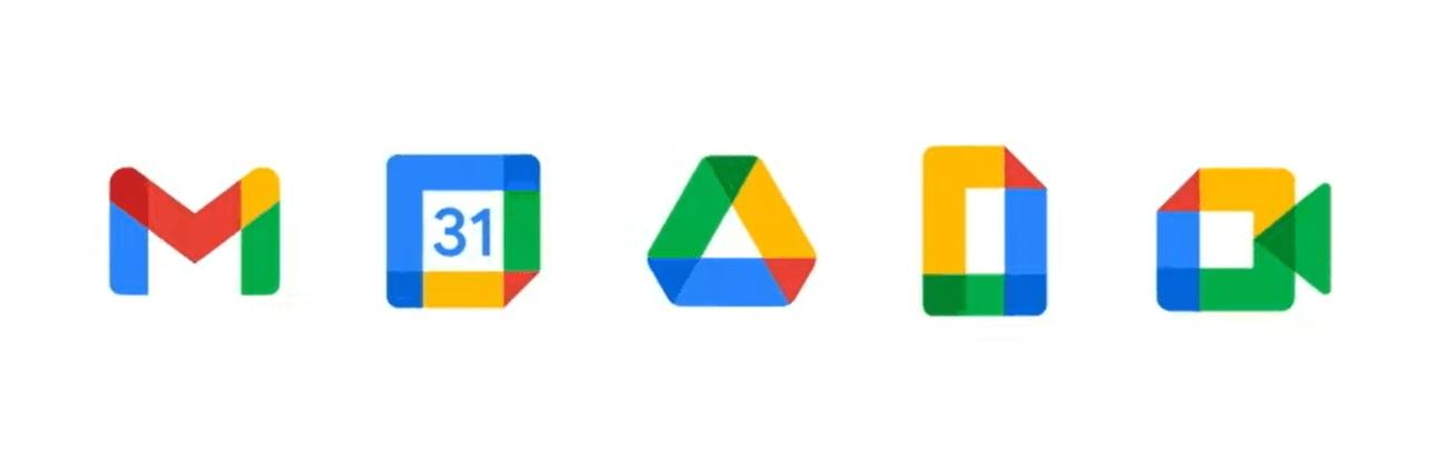 goologo - Gmail new logos in Google applications