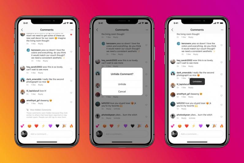 insta ai - Instagram automatic censorship with AI