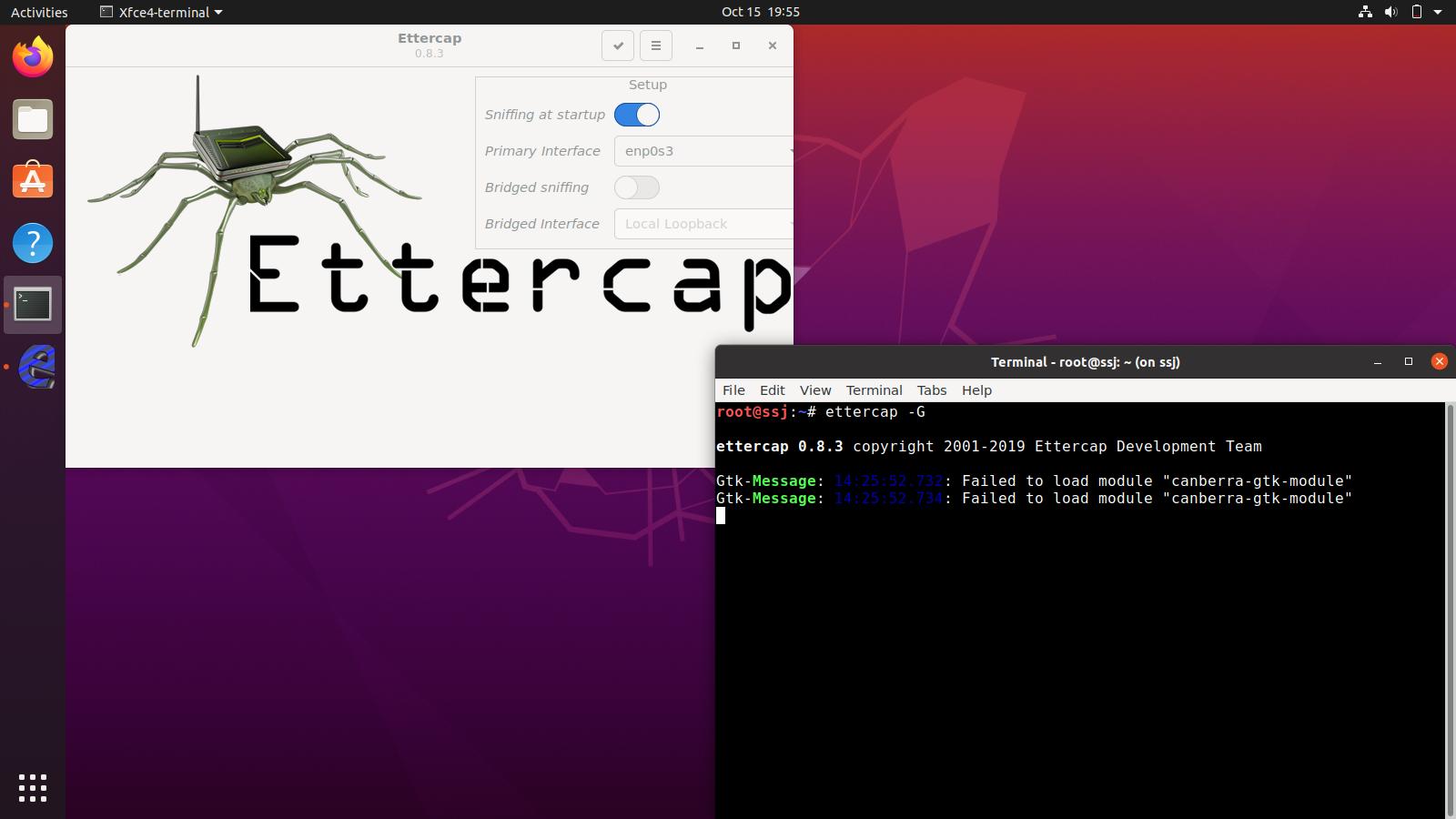 ssj ss ettercap - SSJ: The Linux distribution that surpassed the power of Super Saiyan
