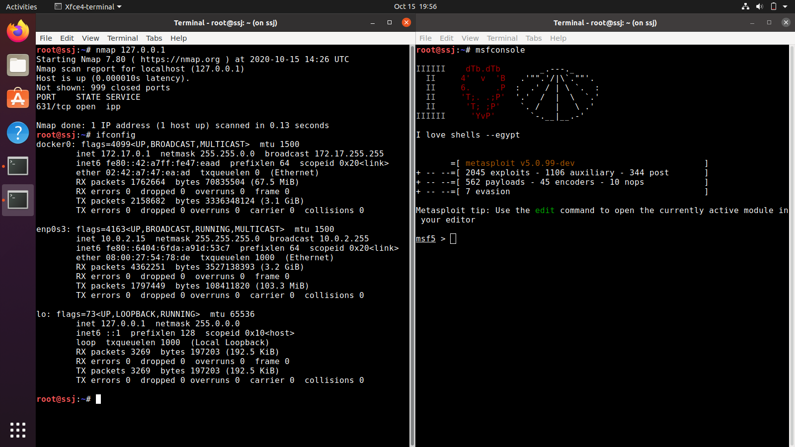 ssj ss msf nmap - SSJ: The Linux distribution that surpassed the power of Super Saiyan