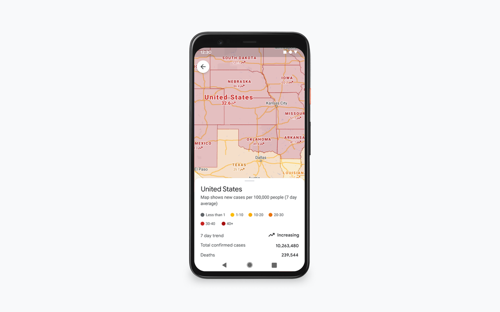 Covid Layer V2.max 1000x1000 1 - Google Maps με ενδείξεις COVID-19 σε πραγματικό χρόνο