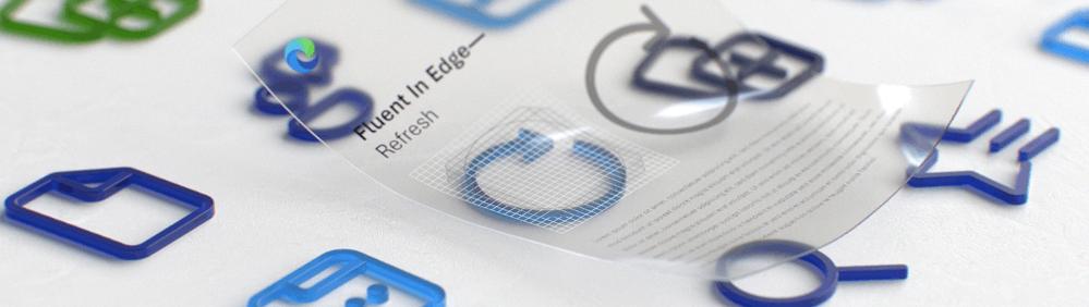 Edge New Icons 1 - Microsoft Edge New Icons Fluent Design